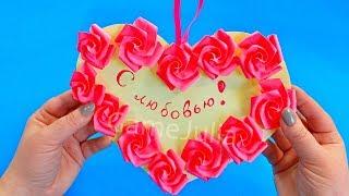 Открытка с Розами на День Валентина