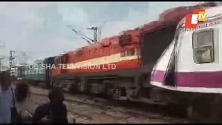Train Accident At Kacheguda Railway Station, Hyderabad