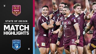 Maroons v Blues | Match Highlights, Game 3, 2020 | State Of Origin