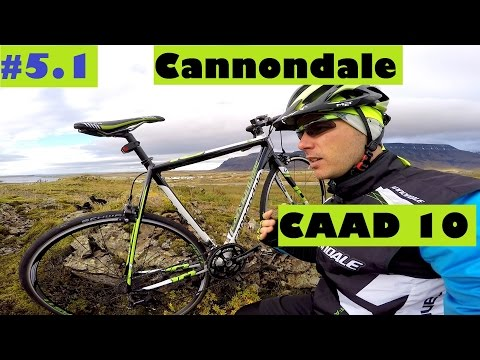 Cannondale CAAD 10 – An AWESOME Alloy Racing Road Bike? Test And Review In Iceland.