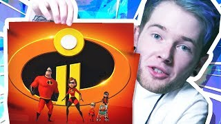 I WENT TO PIXAR ANIMATION STUDIOS!! (The Incredibles 2)