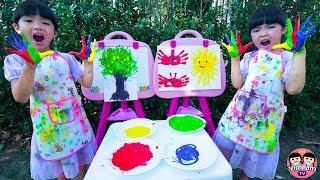 หนูยิ้มหนูแย้ม | ระบายสีด้วยมือ Kids Activity