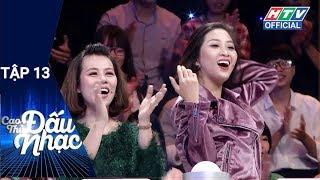 HTV CAO THỦ ĐẤU NHẠC   Anh Vũ - Quỳnh Hoa - Liêu Hà Trinh - Hoàng Mèo  CTDN #13 FULL   8/6/2018