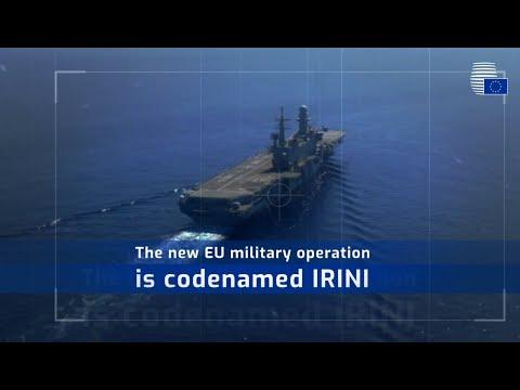 IRINI: New EU mission to monitor Libya's UN arms embargo