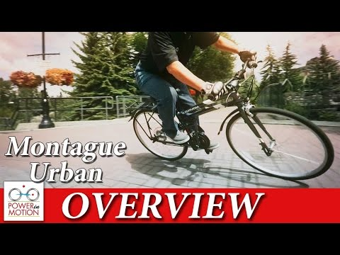 Montague Urban Overview | Folding Bike Calgary | Alberta | Canada