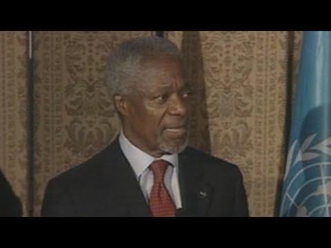 Fallece el ex secretario general de la ONU y nobel de la Paz Kofi Annan