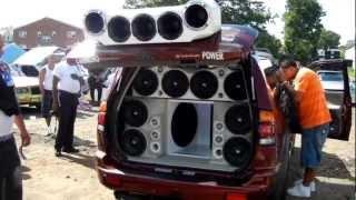 Ev Speakers Sound Car Competition