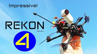 Rekon 4 FPV Drone - A Pleasure To Fly! Review