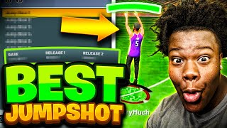 I FOUND THE SECRET TO SHOOTING GREENS ON NBA2K21! BEST JUMPSHOT ON NBA2K21 + TIPS & TRICKS TO SHOOT!