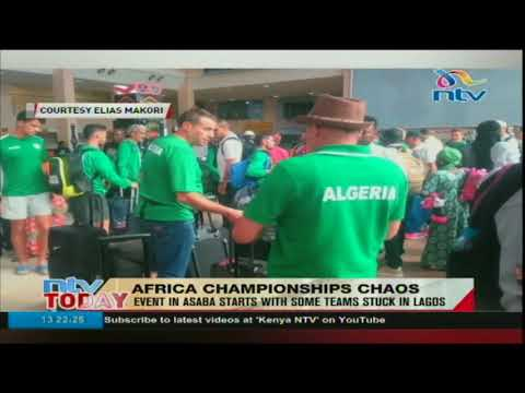 Athletes from different countries stuck in Asaba event in Lagos
