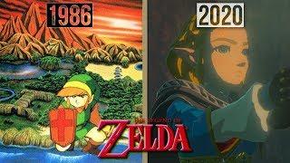 Evolution Of Zelda Games