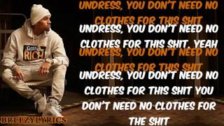 Chris Brown - Undress I Lyric Video