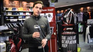 Wilson Staff FG Tour F5 Irons - Incredible feel and workability with a touch of forgiveness