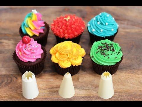 6 Farklı Cupcake Yapımı