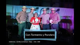 Con Tormento y Pandero - Poncho al hombro (Primera producción)