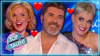 When Judges FLIRT With Contestants on Idol, X Factor & Got Talent | Top Talent