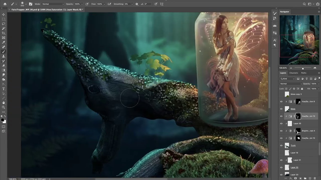 photo manipulation catching fairies in photoshop by phaserunner