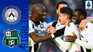 Udinese-Sassuolo 3-0, highlights