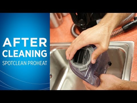 How to Wash Your SpotClean After Use