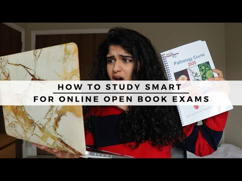 How to study SMART for ONLINE OPEN BOOK exams   Imperial ...