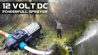 Powerful Charging Sprayer Pump For Agriculture Using 12 Volt DC Motor