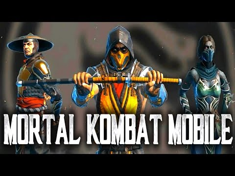 Mortal Kombat 11, the new characters available in a mobile version