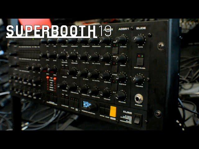 Black Corporation Kijimi: аналоговый синтезатор - примеры звучания (Superbooth19)