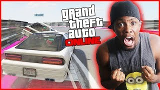 I'M OFFICIALLY RETIRED FROM GTA RACES!! - GTA Online Gameplay