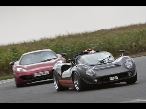 Lola T70 replica vs McLaren MP4-12C: the ultimate production and kit cars
