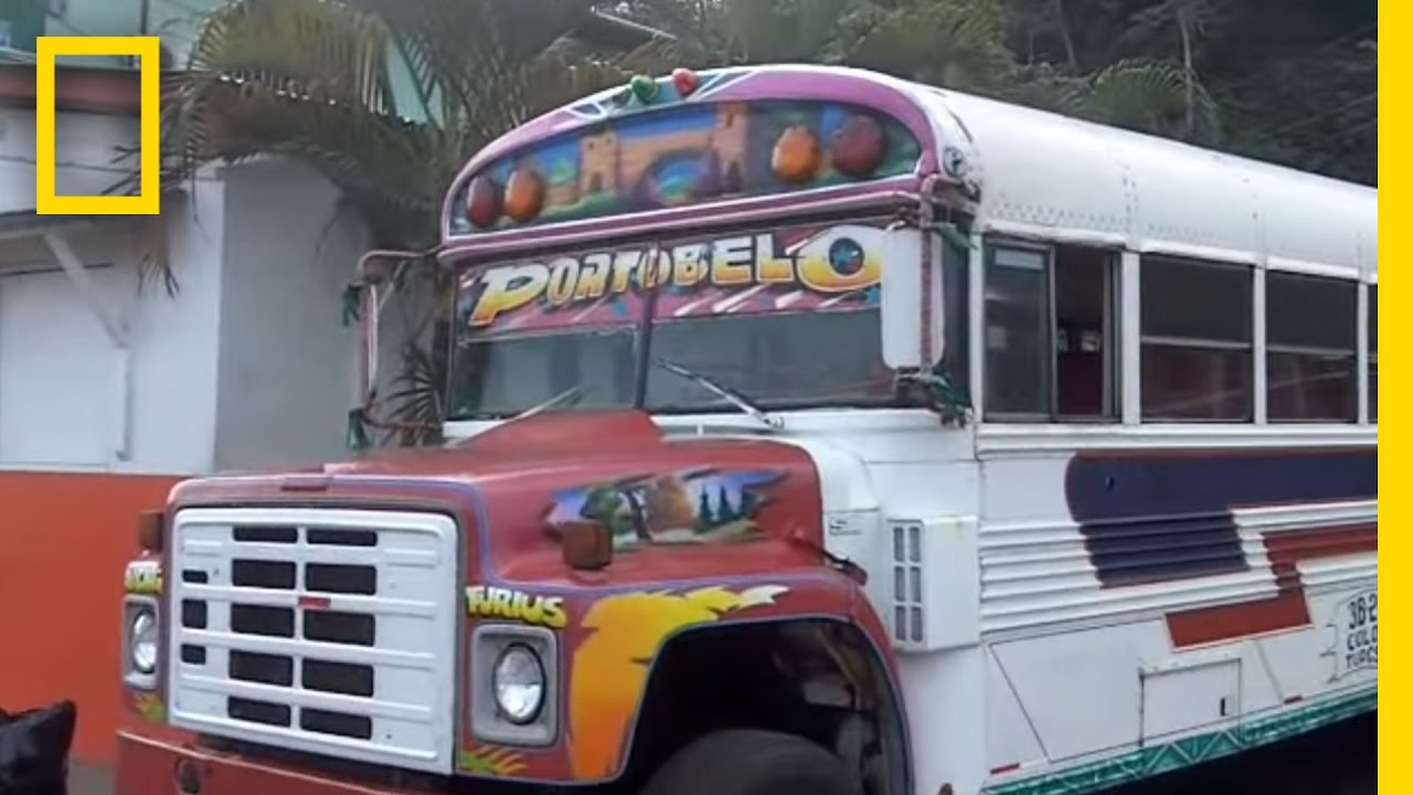 Bus2Antarctica: Panamanian Party Bus | National Geographic thumbnail