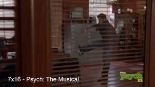 "Shawn in ""9 Lives"" and ""Psych: The Musical"""