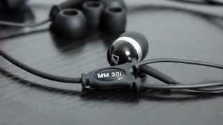 Sennheiser mm30i In Ear Headphones Review