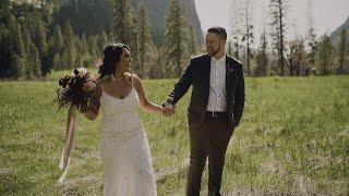 Beautiful Forest Wedding | Jonathan + Cheyenne | Yosemite National Park Wedding Video