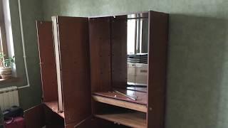 Вывоз старой мебельной стенки на утилизацию на свалку