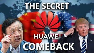 The SECRET HUAWEI Comeback Plan after TRUMPS BAN !