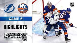 NHL Highlights | ECF, Gm6 Tampa Bay Lightning @ New York Islanders - Sept. 17, 2020