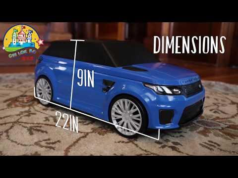 Купить детский чемодан-каталка Chi Lok Bo Range Rover