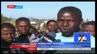 NewsDesk: 11 people confirmed dead along Kisumu - Homa Bay road