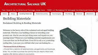 Architectural Salvage UK   Reclaimed Building Materials   Building Material Salvage