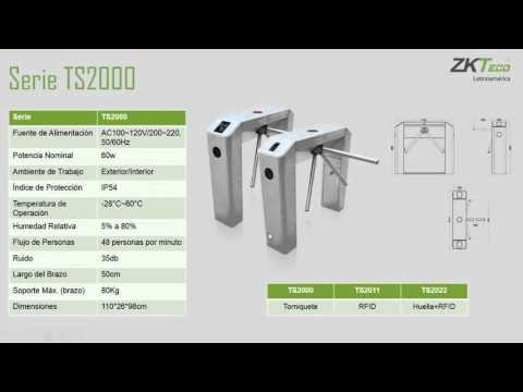 Webinar  Presentación Torniquetes ZKTeco 14 Jul 2015