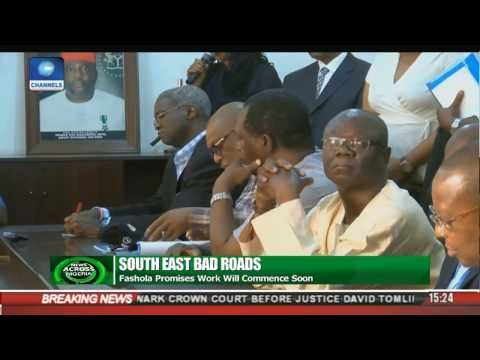 Fashola Promises Work Will Soon Start On South East Road