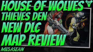 Destiny Thieves' Den Game Play Review! New House Of Wolves DLC PVP Map Review.