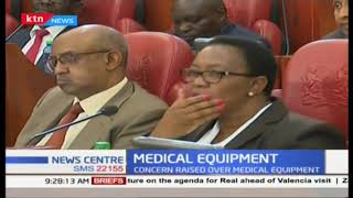 Medical equipment: Cabinet Secretary health appears before senate