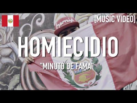 Homiecidio Bando - Minuto De Fama ( Feat. DJ Mistico ) [ Music Video ]