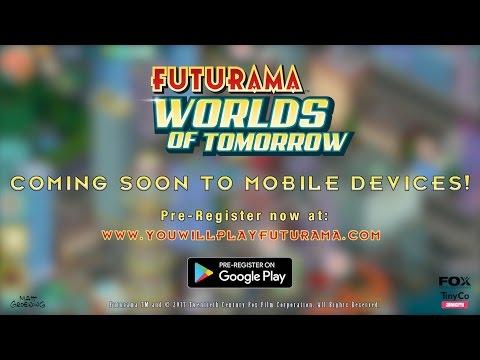 Futurama: Worlds of Tomorrow video
