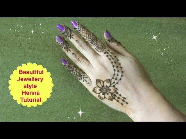 Henna Diy Beautiful Jewelry Inspired Mehndi Diy Beautiful Trendy