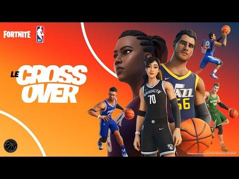 Crossover spécial NBA de Fortnite