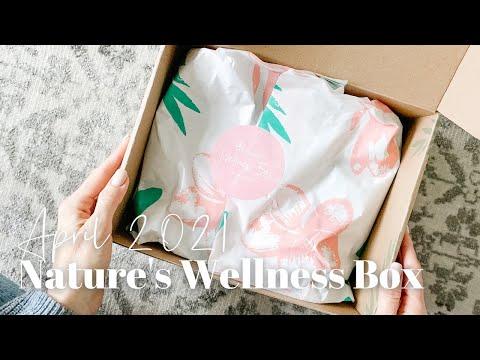 Nature's Wellness Box Unboxing April 2021