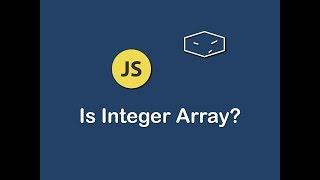 is integer array in javascript