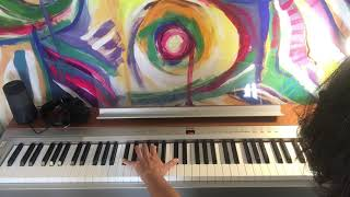 Moments By Alexis Ffrench   Piano Tutorial LH